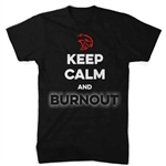 Hellcat Keep Calm and Burnout T-Shirt (Black)