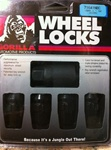 Gorilla Black Locking Lug Nut Set 05-14 Charger, Challenger, Magnum, 300