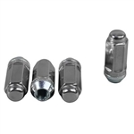 "Gorilla Stainless Steel Lifetime Lugnuts 14mm x 1.5"" Extra Long  Set of 4"