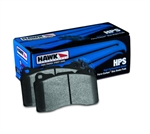 Hawk HPS Rear Brake Pads 2005-2016 2.7L/3.5L/3.6L/5.7L Challenger/Charger/300/Magnum w/ Solid Rear Rotor