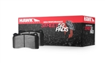 Hawk High Performance Street 5.0 Front Brake Pads 2005-2014 6.1L/392/6.4L 300/Challenger/Charger/Magnum 2015-2016 392/6.4L Scat Pack Challenger/Charger 2006-2010 6.1L Grand Cherokee