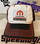 Mopar Or No Car Patch Hat