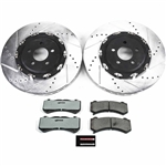 PowerStop Front Z26 Street Warrior Brake Kit 2015-2019 Dodge Challenger
