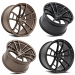MRR Design Matte Black M392 Wheel Package