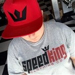 SpeedKing Classic T-Shirt (White or Grey)