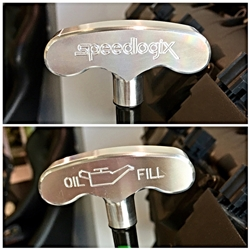 Speedlogix Billet Oil Dip Stick Handle 2005-2018