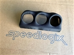 Speedlogix Triple Overhead Gauge Pod (Black) 2011-2020 Charger/300 2012-2020 Grand Cherokee