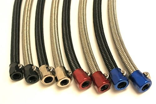 Braided Coolant Lines : Speedlogix braided hose fitting kit catch can