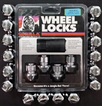 Chrome OEM Style Lug/Lock Package 2005-2016 300/Challenger/Charger/Magnum 2012-2016 Grand Cherokee