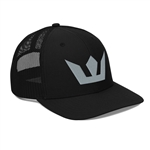 Crown Logo Embroidered Trucker Cap