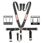 "RaceQuip Sportsman 3"" Camlock Harness (Black)"