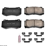Power Stop Z23 Evolution Front Brake Pads 05-19 Challenger, Charger, 300, Magnum 4 Piston Brembo