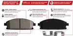 Power Stop Z23 Evolution Front Brake Pads 15-19 Challenger & Charger 6-Piston Brembo