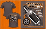 Zoomers Exhaust T-shirt (Brown)