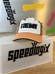 Orange And Tan Hemi 426 Hat