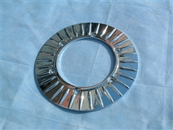 Raider Chrome Rear Rotor Cover