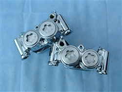 Warrior Chrome Front Caliper Set (all years)