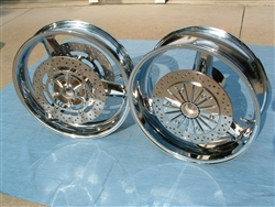 Warrior Chrome Rims / Polished Rotors 02-05