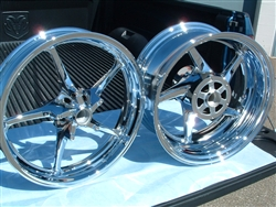 Warrior Chrome Rims 06-09