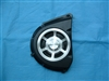 Warrior Chrome Front Pulley Cover, Coated