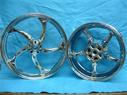 Stryker stock size chrome rims