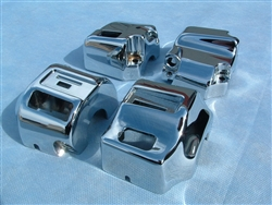 V-Twin Chrome Switch Housing Controls