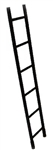 Breaching Solid Ladder 6' / 2m