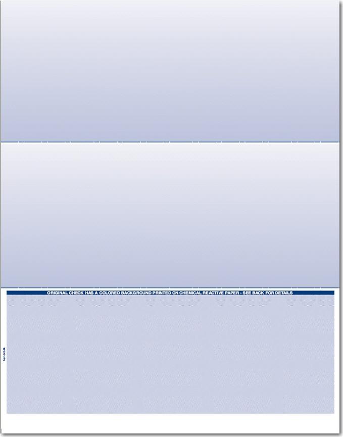 bottom check paper