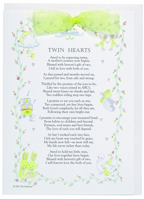 Greeting Card for Twins