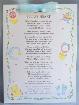 Nana's Heart Card