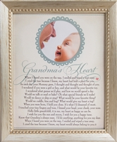 Grandma's Heart Poem Home Decor