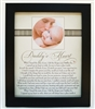 Daddy's Heart Poem Home Decor