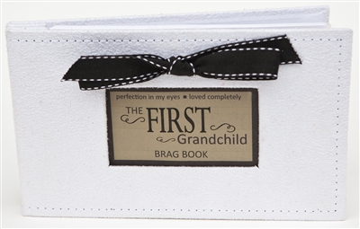First Grandchild Gift: Brag Book