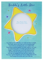 Daddy's Little Star Card