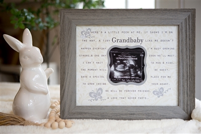 Grandbaby Ultrasound Frame for Grandparents