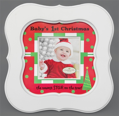 Babys First Christmas Frame