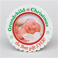 Grandchild Christmas Photo Ornament
