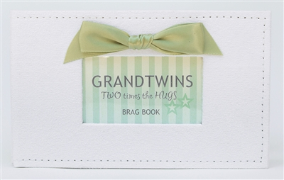 Twin Brag Book for Grandparents