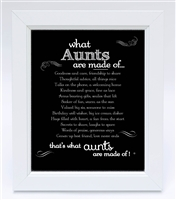 Thoughtful Aunt Frame