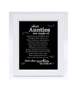 Thoughtful Auntie Frame