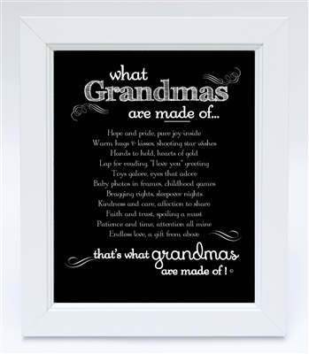 Thoughtful Grandma Frame