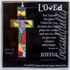 Loved Handmade Glass Cross