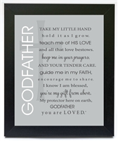 Godfather Poem Frame