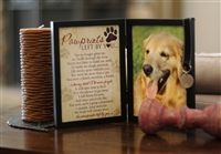 Pawprints Left by You Pet Loss Frame