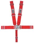 Crow Red 5-Point Seat Belts