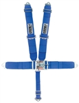 Crow Blue 5-Point Seat Belts