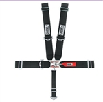 Crow Black 5-Point Seat Belts