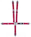 "Crow Red 5-Point Seat Belts-2"" Wide"