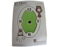 Green O' Henry Ceramic Clock Face