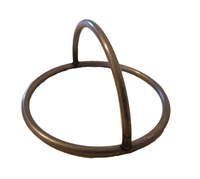 "3"" Steel Ring with Handle"